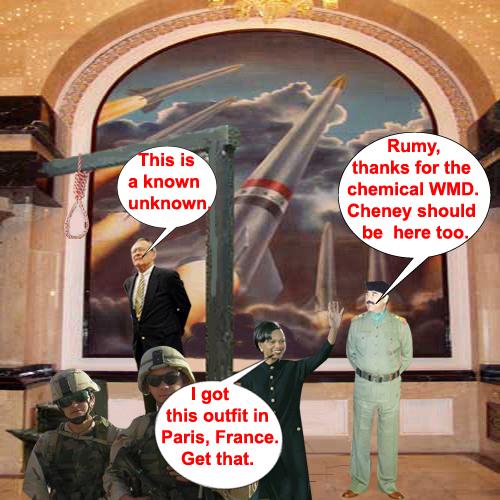Saddam's hanging...