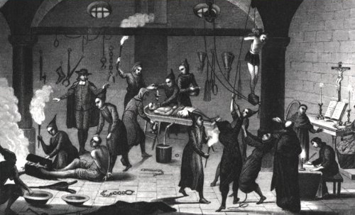 European torture...