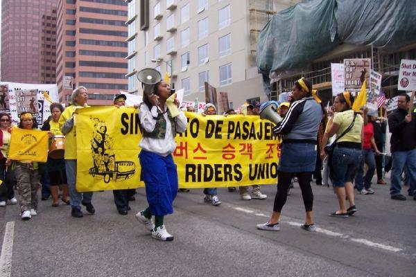 Bus Rider's Union...