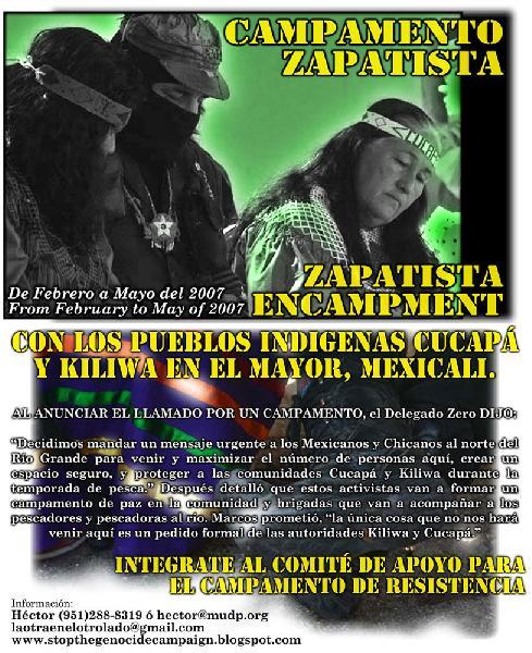 Campamento Zapatista...