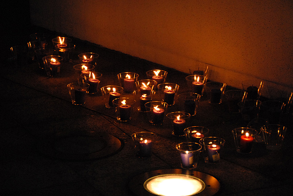 Candles At Twilight...