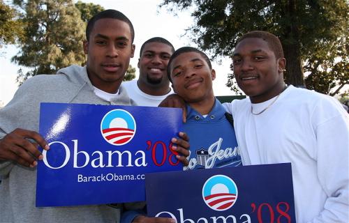 Barack Obama Visits ...