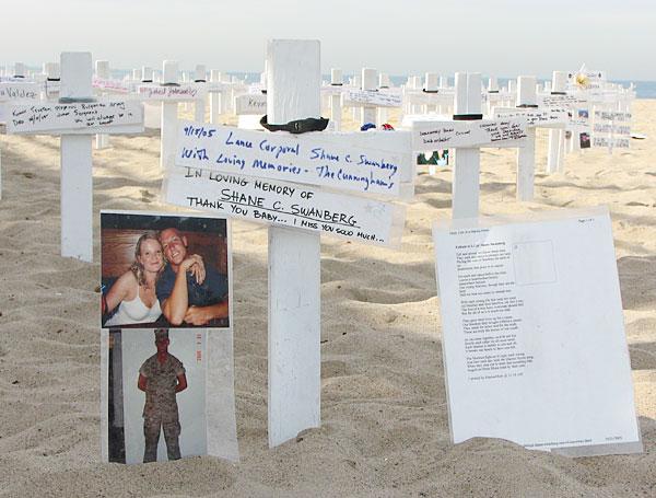 Memorial for Marine ...