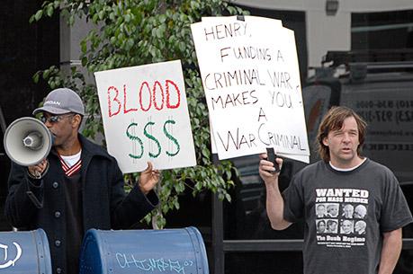 No More Blood Money...