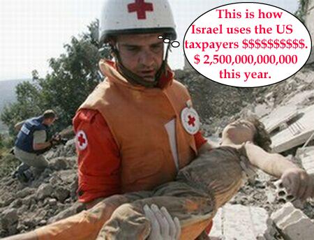 Israel comes begging...