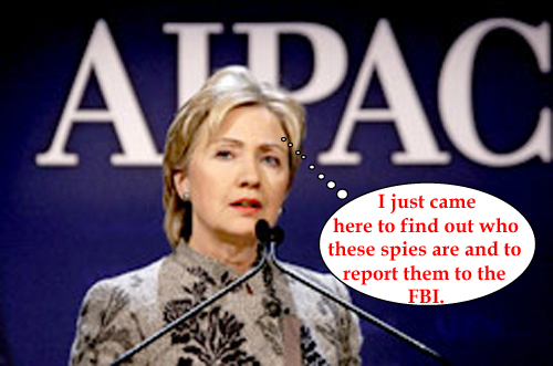 Hillary and the spie...