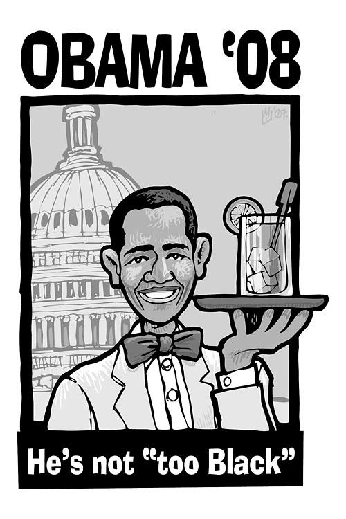 Obama \'08: He\'s no...