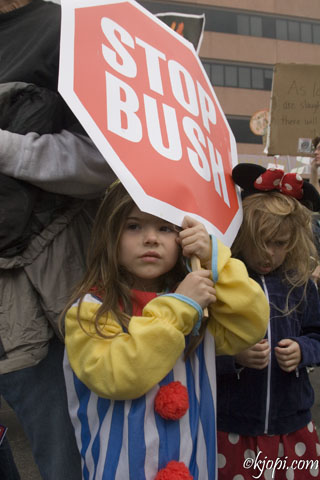 Little Protestor...
