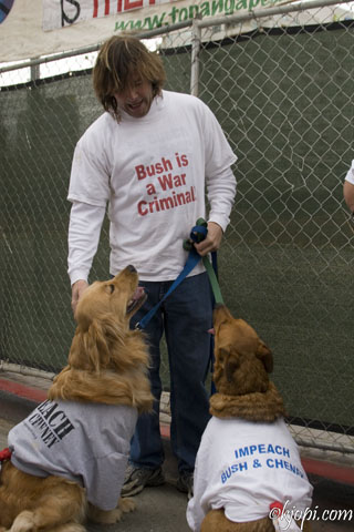 Animal Protestors...