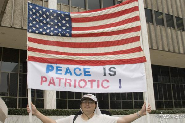 Peace Is Patriotic...