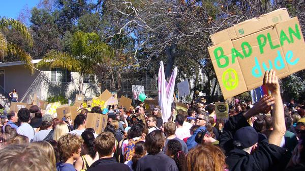UCSB Anti-War protes...
