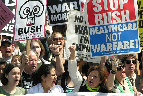 Anti-War Protest in ...