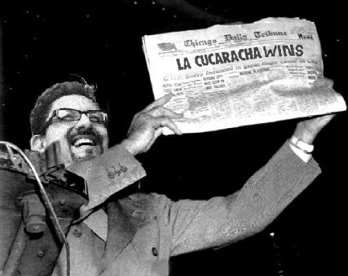 La Cucaracha is Back...
