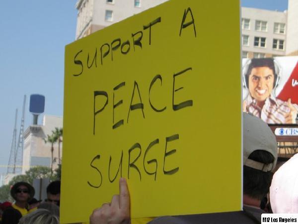 Peace Surge...