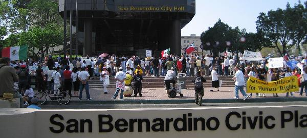 San Bernardino March...