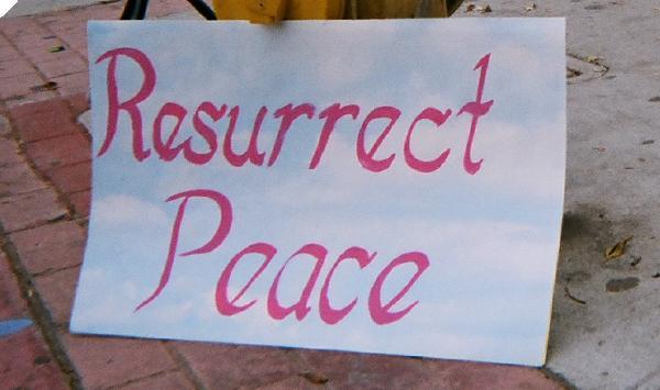 """Resurrect Peac..."