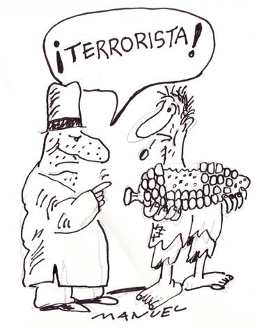 Terrorism also?...