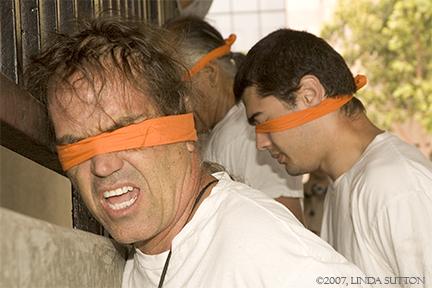 Blindfolden Male Det...