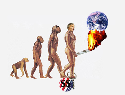 The ascent of man...
