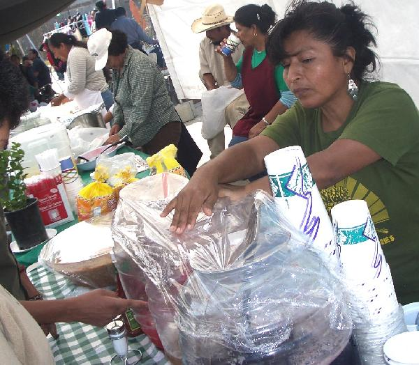 today's tianguis wit...