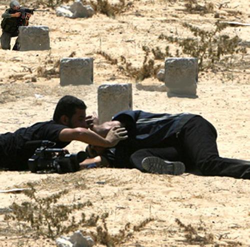 Brave Israeli soldie...