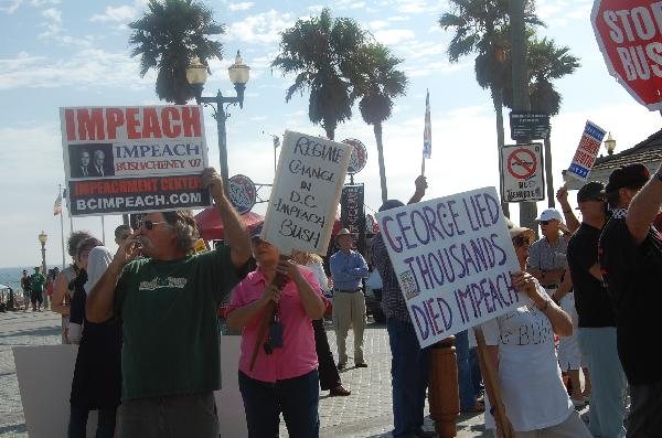 Protesters gather at...