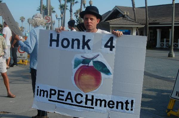 Hats on for impeachm...