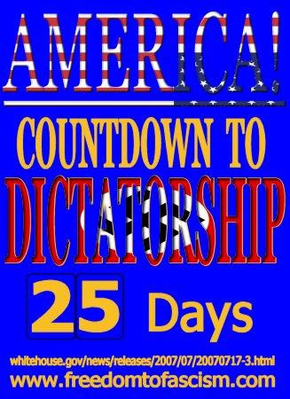 COUNTDOWN to DICTATO...