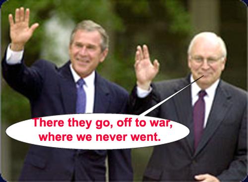 Bush on Vietnam...