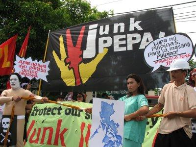 Philippine Protest M...