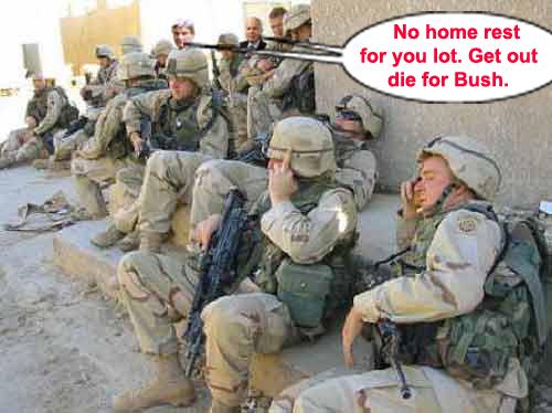 Bush orders troops t...