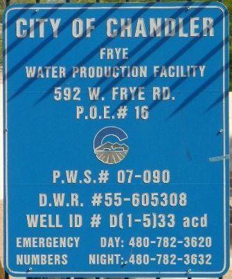 City of Chandler Wat...