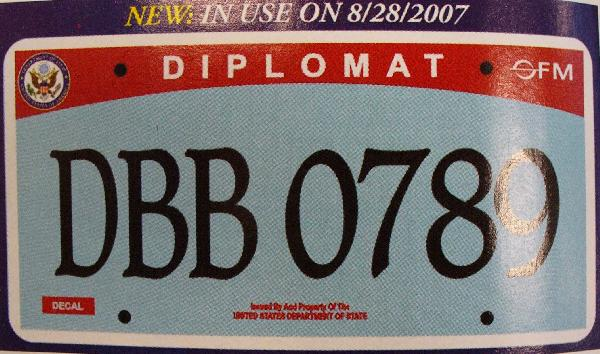 Old Diplomatic Plate...