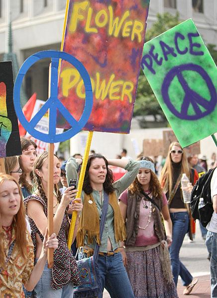 Anti-War March in Lo...