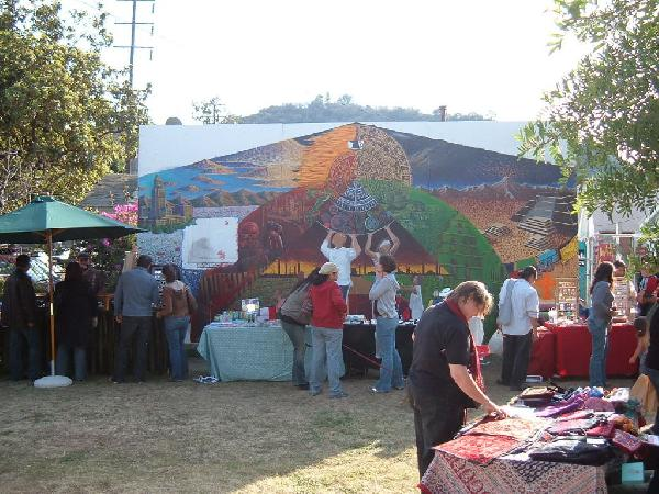 Mural at La Culebra ...