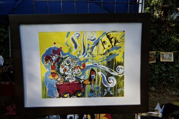 Art on sale at the A...