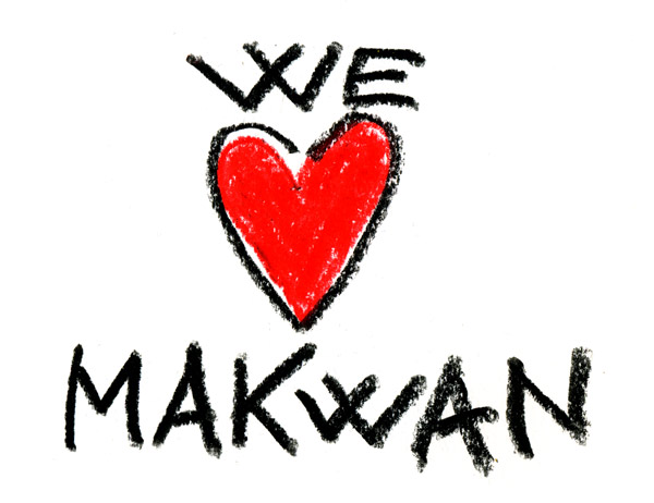 Hearts for Makwan. H...