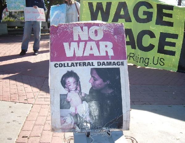 War victim...