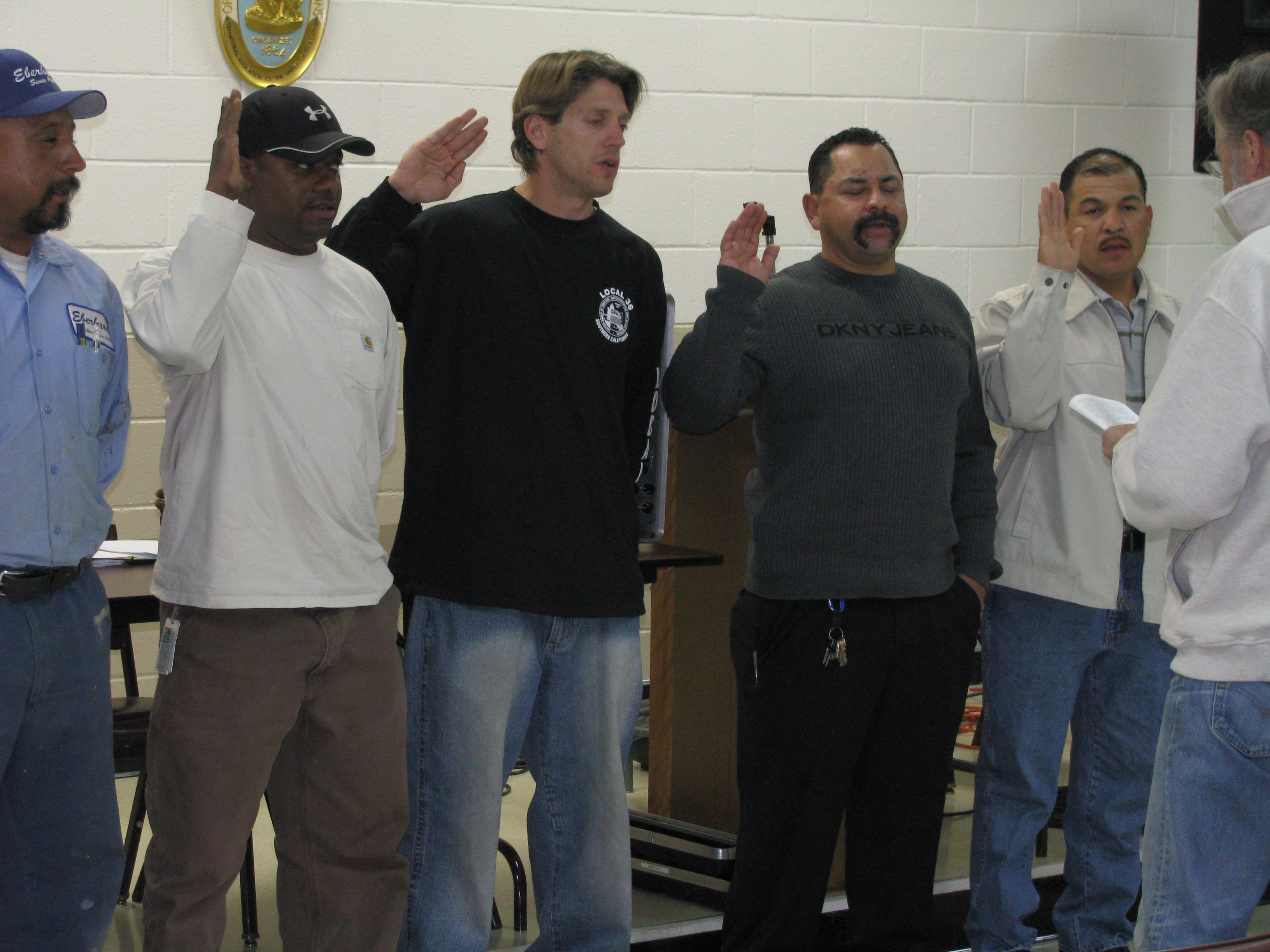 Local 36 L A Roofers Sweep Election