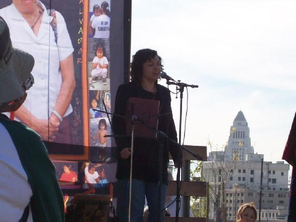 Singer Angela Roa...