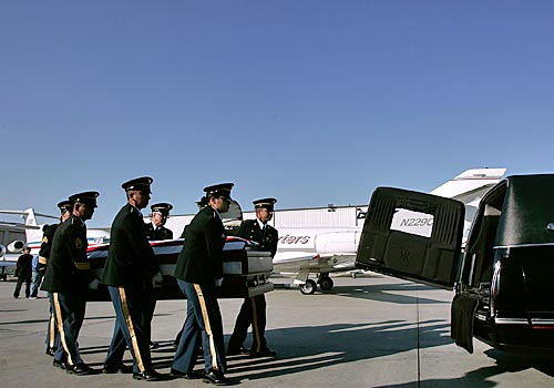 Casket Carried...
