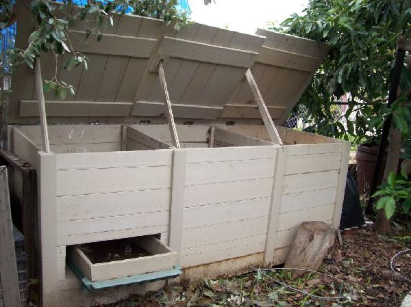 Compost bin...