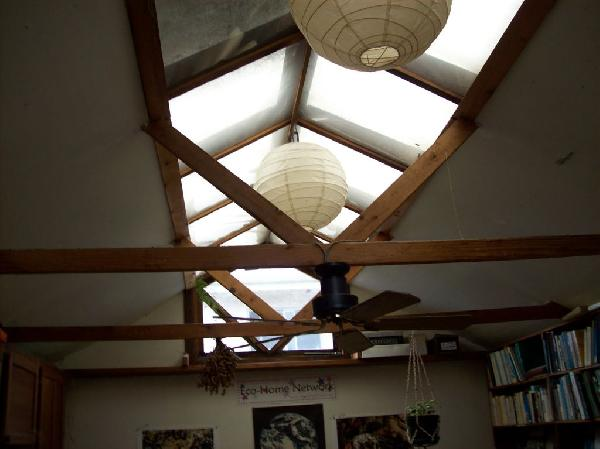 Skylights in back ho...