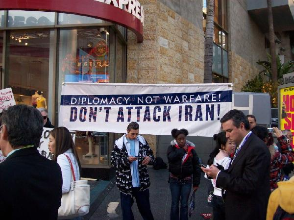 Don't attack Iran!...