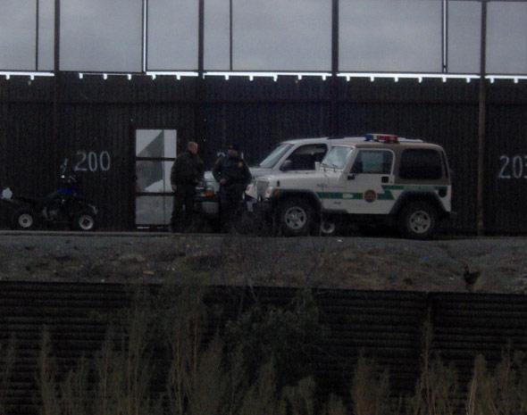 Border Patrol agents...