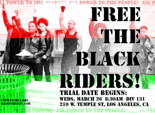Free the Black Rider...