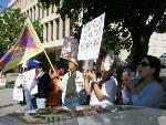 Tibetan Protest in L...