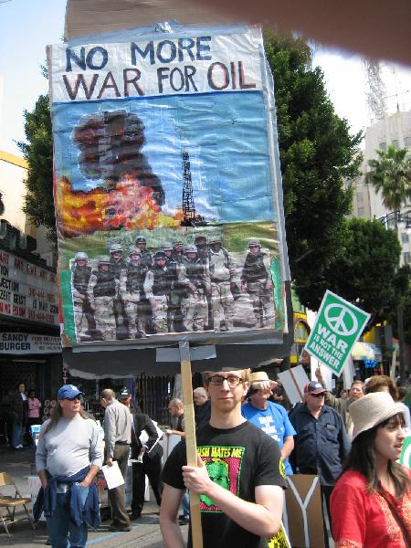 No More War For Oil...