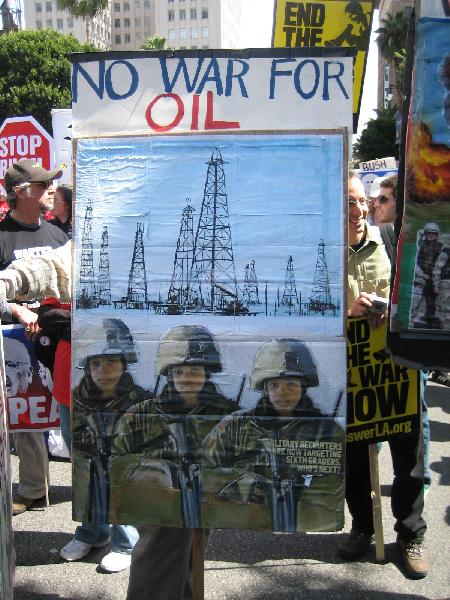 No War for Oil [2]...