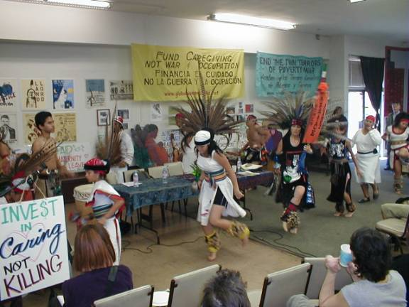 Aztec Dancers:  Danz...